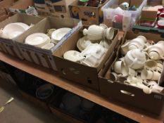 A large quantity of Wedgwood 'Edme' china, in four boxes