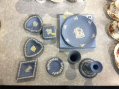 Collection of Wedgwood Jasper ware