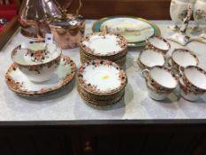 An Edwardian tea set