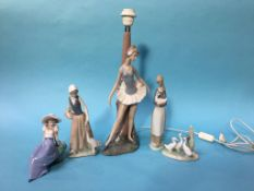 Nao lamp and four figures (5)