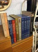 Various Folio type books