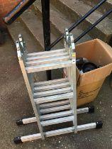 Folding ladders and an Aqua pod