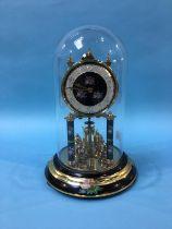 An anniversary style clock