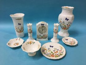 A collection of Aynsley 'Cottage Garden' (9)