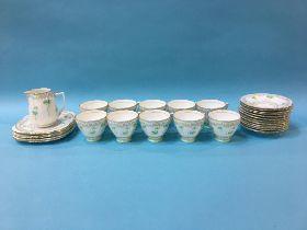 A part Grafton tea set