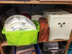 Meat plates and storage boxes etc.