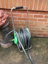 A hose reel