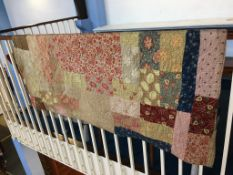 A patchwork Durham quilt