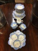 A part paragon tea set
