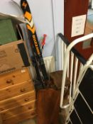 A pair of skis etc.