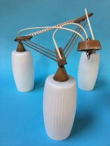 A 1960's light fitting