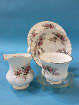 A large quantity of Royal Albert 'Lavender Rose' china