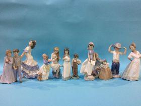 Eleven Nao figures