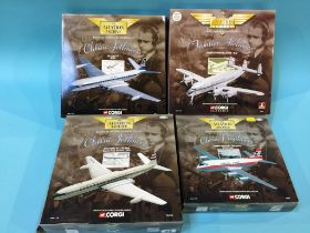 Four boxed Corgi 'Aviation Archive' models
