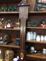 A mahogany barometer