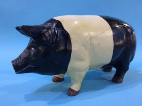 A cast iron Piggy Bank