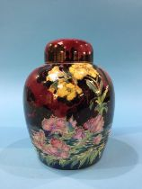 A Royal Winton lustre Ginger jar