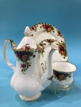 A large quantity of Royal Albert Old Country Roses china