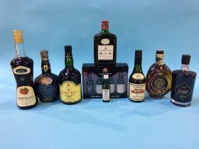 Brandy, Whisky etc.
