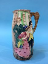 Burleigh Ware vase 'Sally In Our Alley'