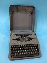 A Hermes 'Baby' typewriter