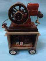 A Red Wing Motor Co. 'Thorobred Motors', Red Wing Minn. USA horizontal gas engine