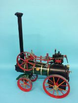 A 1 inch scale Ransomes, Sims and Jefferies of Ipswich model traction engine, model number 149, 40cm