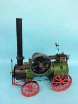 A live model Marshall Sons & Co. Gainsboro traction engine, 36cm length