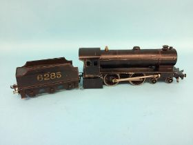 A Bassett Lowke Ltd Enterprise Express, 4-4-0, no. 6285 with black livery