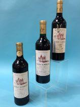 Chateau De Mercues, 2003, Cahors (3 bottles)