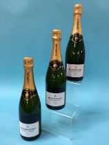 Veuve Monsigny Champagne, No III Brut (6 bottles)
