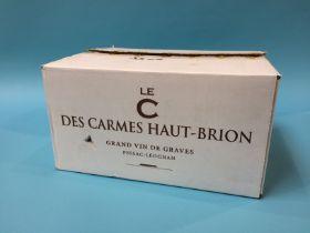 Le C des Carmes Haut-Brion, 2017, Pessac-Leognan, Grand Vin De Graves (6 bottles)
