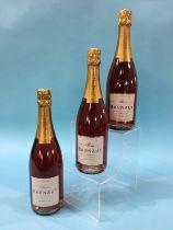 Barnaut Champagne, Authentique Rose Brut Vin De Gastronomie, Grand Cru (6 bottles)