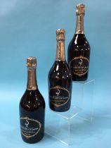 Billecart-Salmon Champagne, 2002, Cuvee Nicolas Francois, Brut (3 bottles)