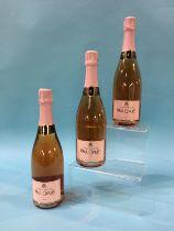 Paul Clouet Champagne, Rose Brut (3 bottles)