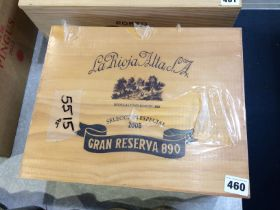 La Rioja Alta, 2005, Gran Reserva 890 (6 bottles)