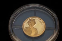 2012 The Diamond Jubilee 14ct gold coin