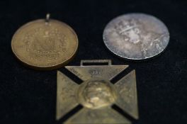 Victorian Jubilee pendent together with 2 others