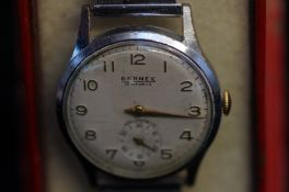 Bernex vintage gents wristwatch manual wind with s