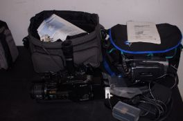 x2 Sony camcorders and accessories