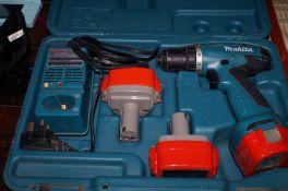 Makita cased drill set (untested)