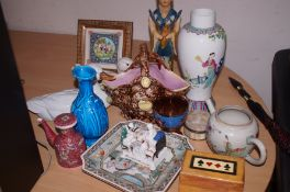 A collection of ceramics and others