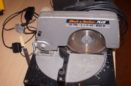 A Black and Decker 1050 W circular saw (untested)