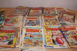 Large collection of Dandy Comics