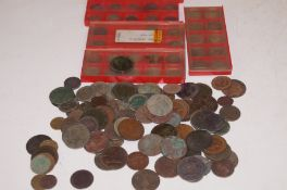Collection of metal detector finds, Victorian and