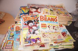 Very large collection of Beano Comics