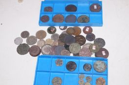 Collection of metal detector finds to include Roma