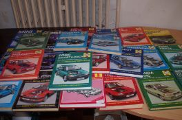 Large collection of Haines Service Manuals