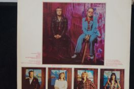 Bee Gees Spirits Having Flown album. Signed by all