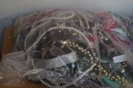 Large bag of costume jewellery - approx 6kg
